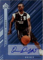 2006-07 Reflections Signature Silver #QD Quincy Douby AUTO - NM-MT