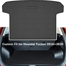 For Hyundai Tucson 2016-2020 Cargo Mat Liner Rear Truck Tray Rubber All Weather