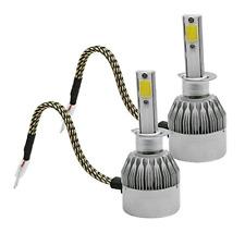 2 x C6 12/24V weiß Auto Scheinwerfer LED Lampe H1 Glühbirnen HID LED 36W 3800lm