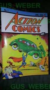 Action comics #1 REPRODUCTION of the 1938 FIRST superman Comic! 1st