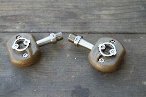 Speedplay FROG titanium pedals USED VGC 53mm original type no cleats