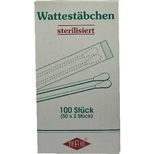 WATTESTÄBCHEN Holz steril 50X2St PZN 110639