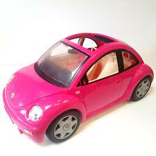 BARBIE VOLKSWAGEN VW BEETLE 2000 MATTEL PINK - Excellent Condition