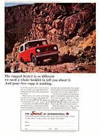 1964 Vintage ad International Scout Color  Man Cave Art