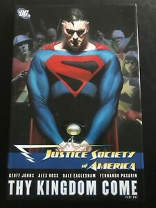 Justice Society of America THY Kingdom Come Part 1 Hardcover VG+++ JSA