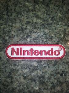 Retro Nintendo Iron or Sew On Patch Vintage Style LAST ONES