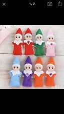 6 X Baby ELF Doll House One Of Each Colour