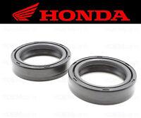 Set of (2) Honda Front Fork Oil Seals (See Fitment Chart) #91255-KBH-003