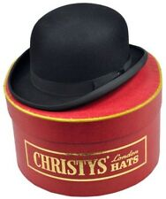 CHRISTYS LONDON 7 1/8 CH20 OLD FASHION DERBY FUR FELT BOWLER PEAKY BLINDERS 57CM