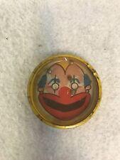 Antique/vintage Clown dexterity puzzle - Round Tin