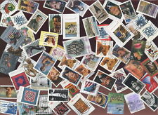 USA postage stamps 34c-39c 2000-2005 200 different on/off paper [sta3104]