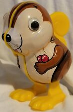 Squirrel Running With Nuts. Yone Wind Up Toy #508