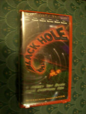 1999 THE BLACK HOLE Collector's Edition VHS Red Clamshell DISNEY Widescreen NEW