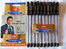 20 X Cello Fine Grip Non-stop Writing Ball Point Pen Black Ink Ball Point Pen