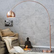 Bogenlampe LOUNGE DEAL Kupfer 170 - 210cm ausziehbar Stehlampe Stehleuchte