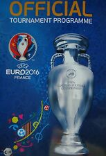off. Turnier Programm UEFA Euro 2016 Frankreich France (englisch)