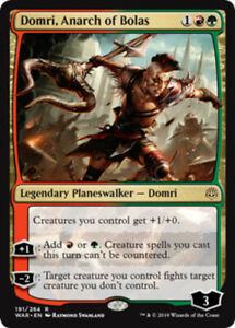 Domri, Anarch of Bolas x4 Magic the Gathering 4x War of the Spark mtg card lot