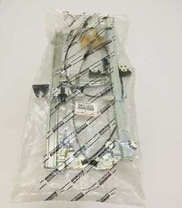 NEW GENUINE FOR 03-09 TOYOTA 4RUNNER TAILGATE POWER WINDOW REGULATOR REAR
