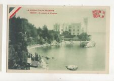 Trieste Castello Di Miramar Italy Vintage Postcard 252b