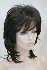 LMJF551 new design medium health fashion women dark brown 4# hair wigs wig