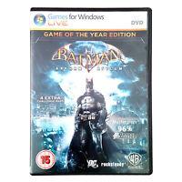 Batman Arkham Asylum for PC DVD ROM Games