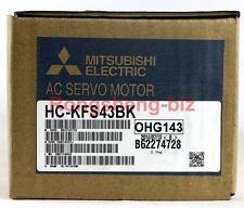 Brand New Mitsubishi HC-KFS43BK 400W AC Servo Motor #RS02