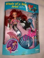 Whale of a Tale Ariel with her friend spot-Disney The Little Mermaid nib