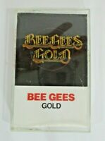 The Bee Gees Gold Cassette Tape 1976 Polygram Records vintage