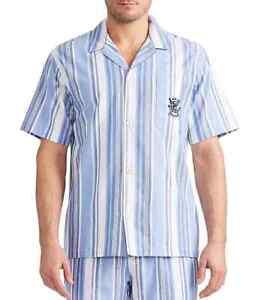 Polo Ralph Lauren Men's Chilmark Oxford Pajama Top Short Sleeve Size L NWT