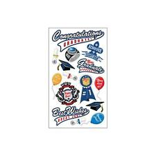 Scrapbooking Stickers Sticko Crafts Congratulations Graduate Graduation Ring