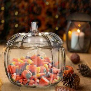 Sweet Jar Halloween Pumpkin party Decoration Glass Jar