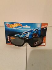 Hot Wheels Boys 100% Uv Shatter Resistant Wrap-Style Sunglasses Nwt