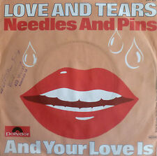 """7"""" 1971 CV SEARCHERS ! LOVE AND TEARS Needles And Pins"""