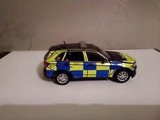 Code 3 BMW X5 armed response vehicle  Lancashire police 1/43