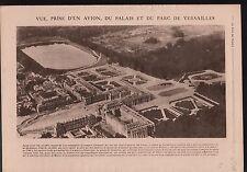 WWI Parc Le Notre & Château de Versailles de Louis XIV Marly 1918 ILLUSTRATION