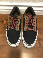 Vans Mens Shoes Black / Brown Fashion Sneakers Sz 10.5 US