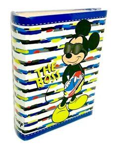 DISNEY Mickey Mouse Kinder Fotoalbum Hochwertig für 200 Fotos Micky 10x15 D63