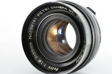 Petri 55mm f1.8 C.C Auto Camera Lense [Excellent+++] FROM JAPAN