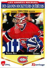 1993-94 Durivage Score #17 Patrick Roy