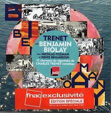 CD Benjamin BIOLAY - Charles TRENET Trenet - Edition Spéciale 2 CD ++ RARE ++