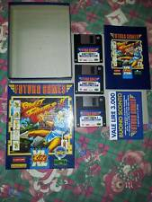 STREET FIGHTER II 2 PC FLOPPY DISK CARTON BOX 3 1/2 IBM CAPCOM VER ITALIANO ITA
