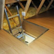 Youngman Easiway Aluminium 3 Section Loft Ladder Fast And Free Delivery New