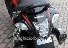 LED Rücklicht Heckleuchte weiß klar Suzuki Hayabusa GSX-R 1300 K8 K9 L0 L1 L2 L3