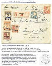 NED INDIE  1928-12-31  CV  SEMARANG-HOOGKERK    LEES!! F/VF