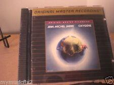 JEAN MICHEL JARRE Oxygene MFSL Gold 24 KARAT Sealed CD RARE OUT OF PRINT LIMITED