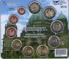 ESPAGNE Blister FDC BU World Money Fair 2012