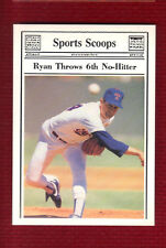 NOLAN RYAN 1992 Broder Issue Texas Rangers HOF Beautiful!
