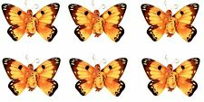 Anne Geddes Baby Scrapbook Stickers! Yellow BUTTERFLY Set of 6