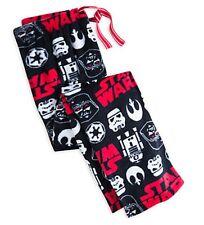 NWT Star Wars Non Footed Pajama Pants Fleece Lounge Sleepwear M or L LAST ONES