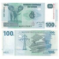 Pick 98a Kongo / Congo 100 Francs 2007 Unc. / 665847vvv